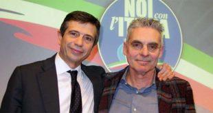 L'ex ministro Maurizio Lupi (a sinistra) e Costantino Toniolo