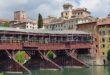 Bassano, via al sollevamento del Ponte degli Alpini