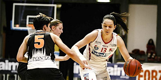 28 punti per Melisa Brcaninivoc contro Bolzano