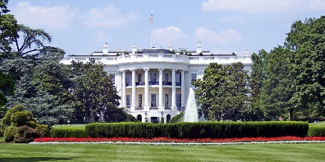 La Casa Bianca, a Washington, residenza e principale ufficio del presidente degli Stati Uniti