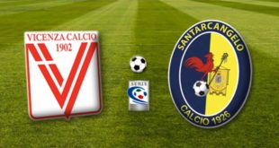 Vicenza-Santarcangelo - Diretta web - 0-0