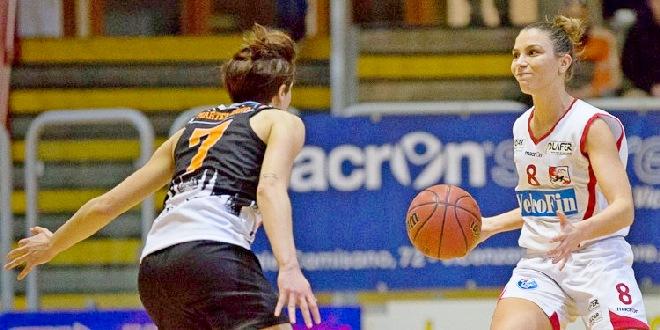 Federica Destro, play della VelcoFin Vicenza