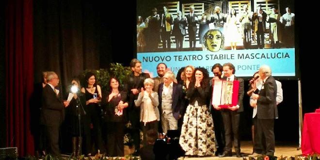 La compagnia Nuovo teatro stabile Mascalucia si è aggiudicata la Maschera d'Oro