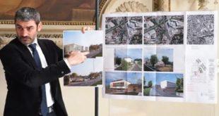 L'assessore Zanetti ha illustrato questa mattina il progetto di riqualificazione