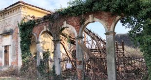 Le condizioni attuali dell'area dell'ex Tiro a segno di Arzignano