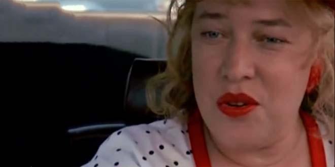 """Kathy Bates nella celebre scena """"Towanda"""", del film """"Pomodori verdi fritti alla fermata del treno"""""""