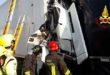 Schianto in A4 fra tre camion. Un ferito e lunghe code