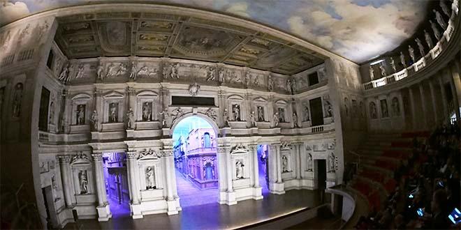 Vicenza, nuovo modo di vedere il Teatro Olimpico