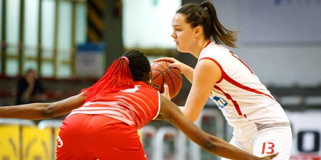 !7 punti (più 5 di sutura) per Melisa Brcaninovic nella sfida contro Castelnuovo Scrivia