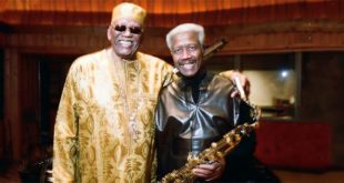 Randy Weston e Billy Harper (Foto di Jules Aallen)