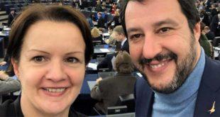 Mara Bizzotto con Matteo Salvini