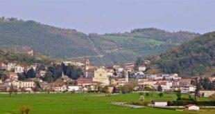 Castelgomberto visto da Brogliano - Foto di Pottercomuneo (CC BY-SA 4.0)