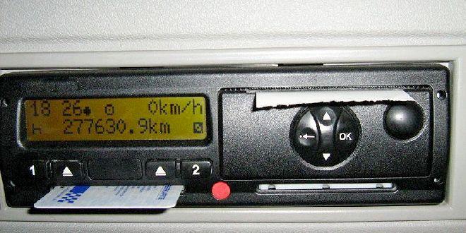 Multa di 1700 euro e ritiro della patente per il cronotachigrafo manomesso. Immagine di repertorio