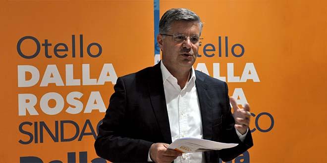 Otello Dalla Rosa, candidato sindaco di Vicenza per il centrosinistra