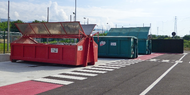 Fondi regionali per i centri di raccolta rifiuti