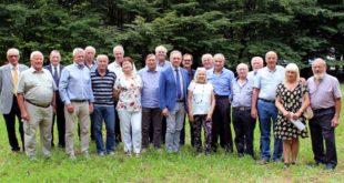 I consiglieri neo eletti, con il presidente provinciale di Confartigianato, Agostino Bonomo, e quello di Anap, Severino Pellizzari