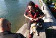 Due cani in difficoltà salvati dai vigili del fuoco
