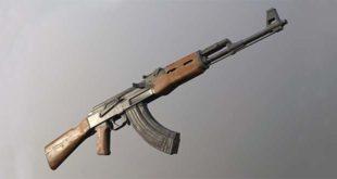 Un fucile mitragliatore Ak47 Kalashnikov