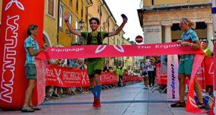 Hans Paul Pizzinini taglia il traguardo vincendo l'edizione del 2017 (Foto di Nadia Pietrobelli)