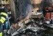 Cornedo, incendio in un magazzino