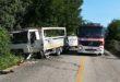 Thiene, due incidenti sulla provinciale. Un ferito grave