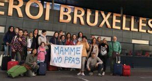 Non è la prima volta che Mamme No Pfas si reca in Europa per far sentire le proprie ragioni