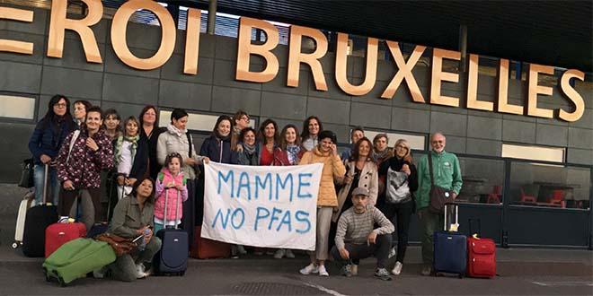 Mamme No Pfas ascoltate nei palazzi europei