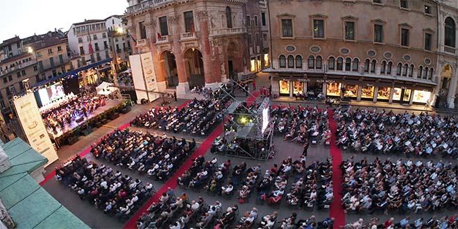 """Vicenza, in piazza dei Signori torna """"Viva Verdi"""""""