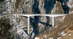 Il ponte della Valgadena - Foto di Nordavind (CC BY-SA 3.0)
