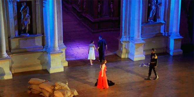 "Una scena de ""L'inganno felice"" di Rossini, al teatro Olimpico"