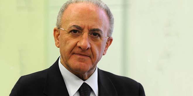 Il presidente della Regione Campania Vincenzo De Luca - Foto Jack45 (CC BY 3.0)