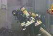 Chiampo, principio d'incendio in una conceria
