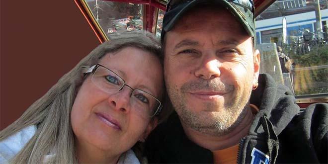 Ivan Savio e Silvia Zanella in una foto tratta dal loro profilo Facebook