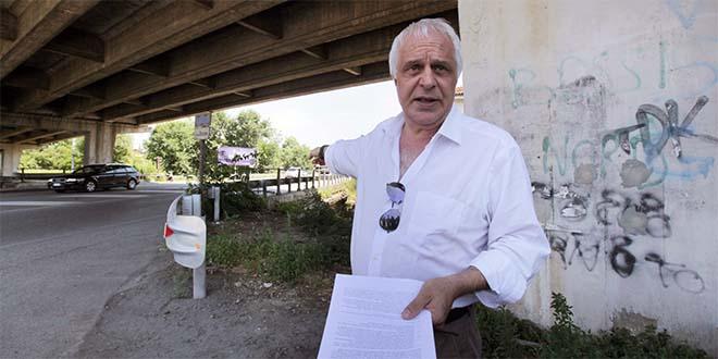 L'assessore a mobilità e infrastrutture del Comune di Vicenza Claudio Cicero