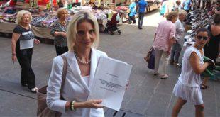 L'assessore alla trasparenza del Comune di Vicenza Isabella Dotto