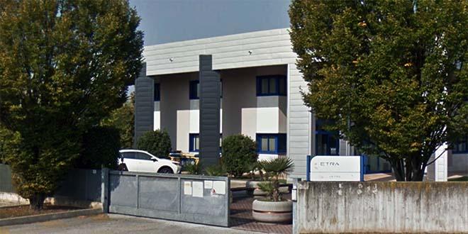 La sede centrale di Etra, a Cittadella