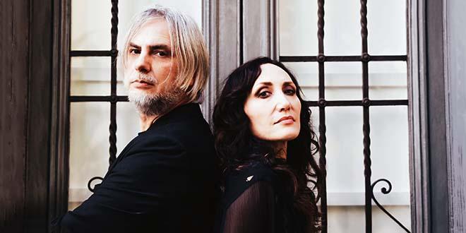 Marina Rei e Paolo Benvegnù, in una foto di Laura Penna