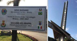 Bassano in visita in Brasile, a... Nova Bassano