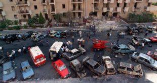 Via D'Amelio subito dopo l'attentato del 19 luglio 1992