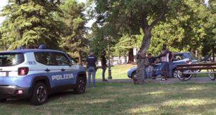 Vicenza, un controllo di polizia a Campo Marzo
