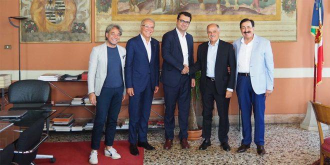 Da sinistra: Pavone, Pasqualin, Rucco, Di Rocco e Belluscio