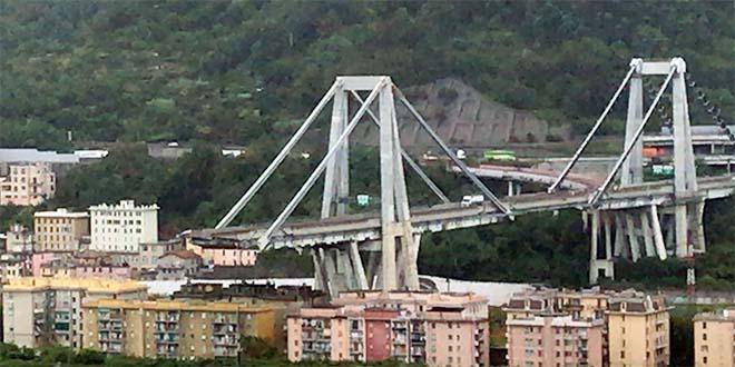 Genova, il ponte Morandi crollato - Foto: Salvatore Fabbrizio - Wikipedia (CC BY-SA 4.0)