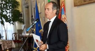 Il presidente della Regione del Veneto Luca Zaia