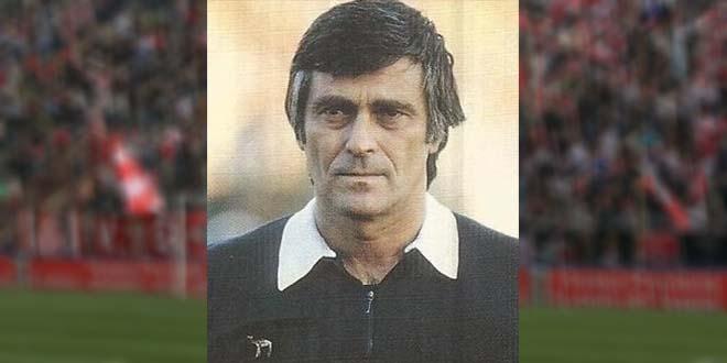 Luigi Agnolin, negli anni in cui era ancora attivo sui campi di calcio