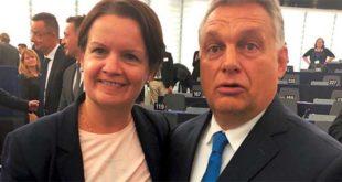 Mara Bizzotto e Viktor Orban