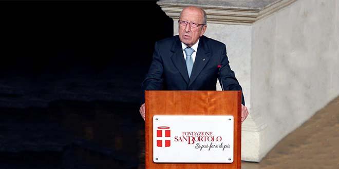 Il presidente della Fondazione San Bortolo Gian Carlo Ferretto