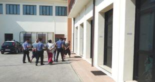 I quattro arrestati a Sandrigo con l'accusa di furto aggravato