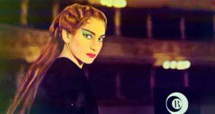 Maria Callas nei panni di Medea, sulla copertina del disco Ricord