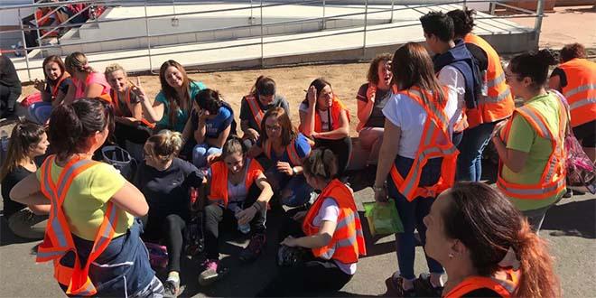 Logistica, 30 lavoratori incrociano le braccia