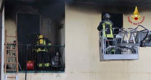 Breganze, appartamento distrutto da un incendio